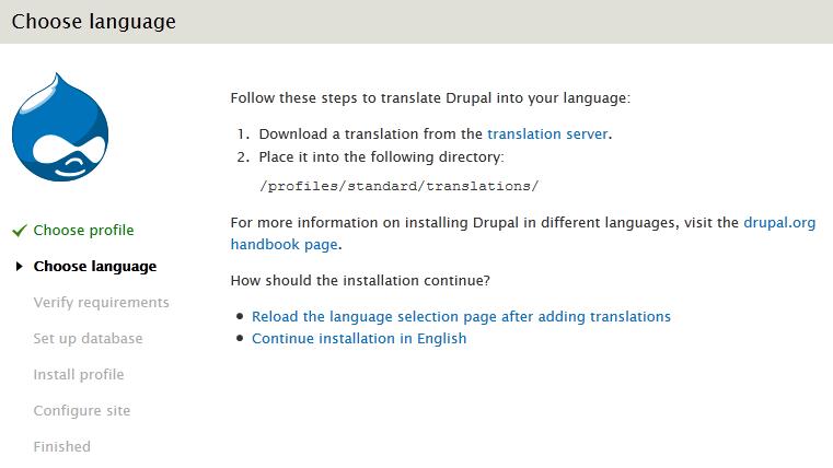 Друпал languages языки загрузить